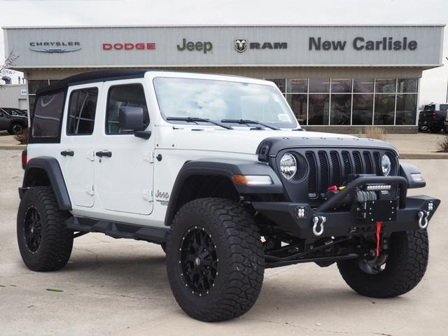 Jeep Wrangler Unlimited Sport >> New 2019 Jeep Wrangler Unlimited Sport S Sport Utility In New