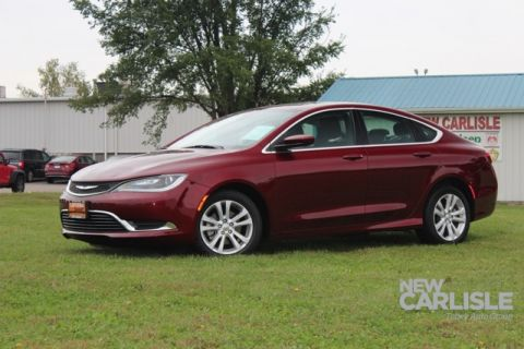 Certified Pre Owned 2016 Chrysler 200 Limited