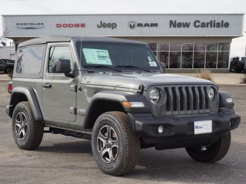 Jeep Wrangler For Sale In Sc >> 5 New Jeep Wranglers For Sale Near Dayton Oh New Carlisle