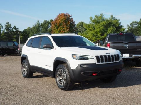 New 2021 JEEP Cherokee Trailhawk
